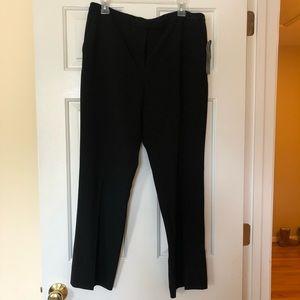 NWT Jones New York Platinum Petite Dress Pants BLK